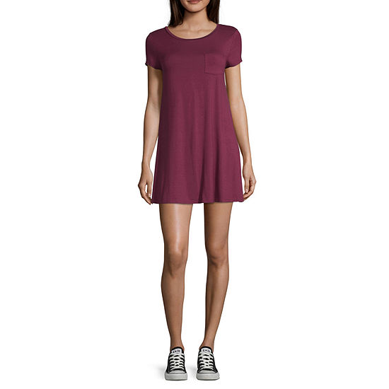 c6a0ba3f7 Arizona Short Sleeve T-Shirt Dresses - Juniors - JCPenney
