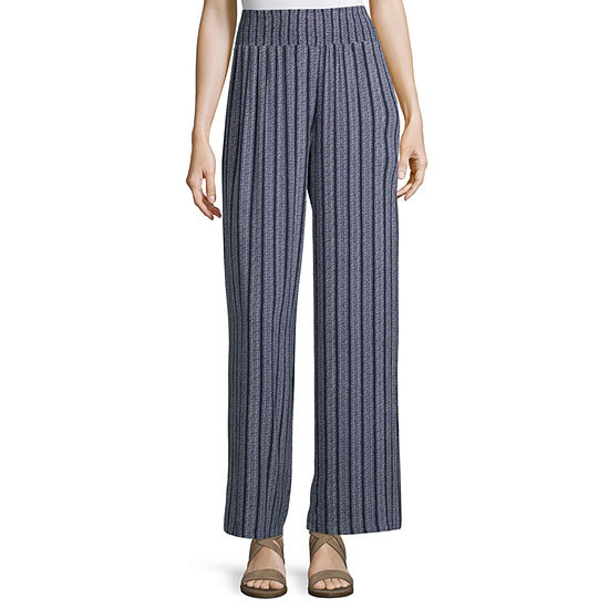 Rewind Womens Wide Leg Pull-On Pants-Juniors