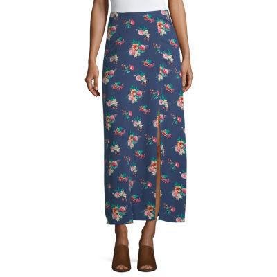 Society And Stitch Womens Maxi Skirt - Juniors