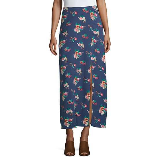 Society And Stitch Womens Maxi Skirt - Juniors