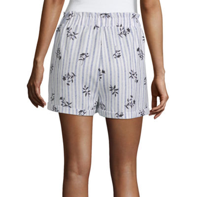 Society And Stitch Womens Short A-Line Skirt-Juniors