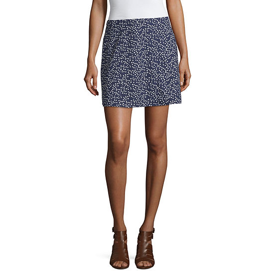 Society And Stitch Womens A-Line Skirt-Juniors
