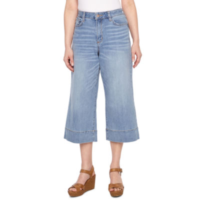 a.n.a High Waisted Cropped Pants - Petite