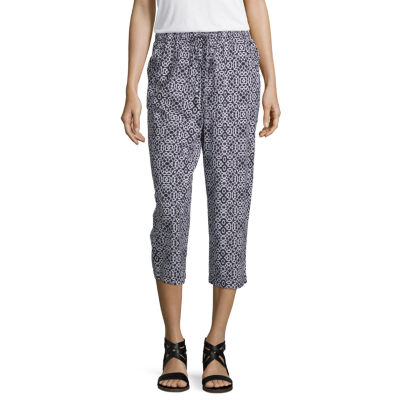 east 5th Womens High Waisted Straight Drawstring Pants