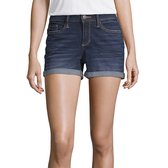 "a.n.a 3.5"" Roll Cuff Denim Short"