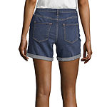 "a.n.a 5"" Denim Midi Short"