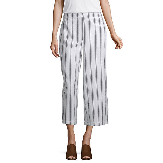 a.n.a Soft Womens High Waisted Wide Leg Pull-On Pants