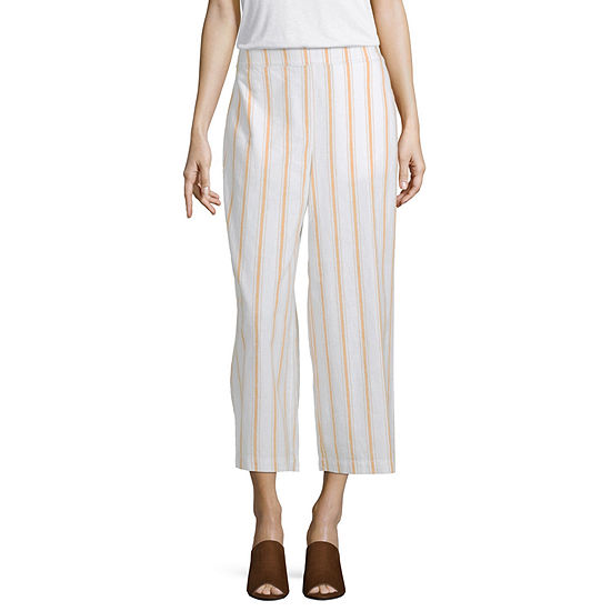 a.n.a Soft Womens High Rise Wide Leg Pull-On Pants
