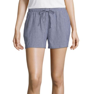 a.n.a Womens Drawstring Waist Soft Short
