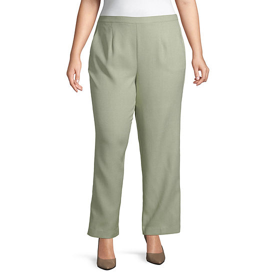 4ea7444ce170c2 Alfred Dunner South Hampton Pull On Pant - Plus - JCPenney
