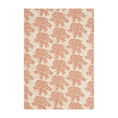 Safavieh Courtyard Collection Omar Floral Indoor/Outdoor Area Rug