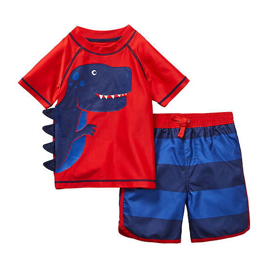 Okie Dokie - Toddler Boys Trunk Set