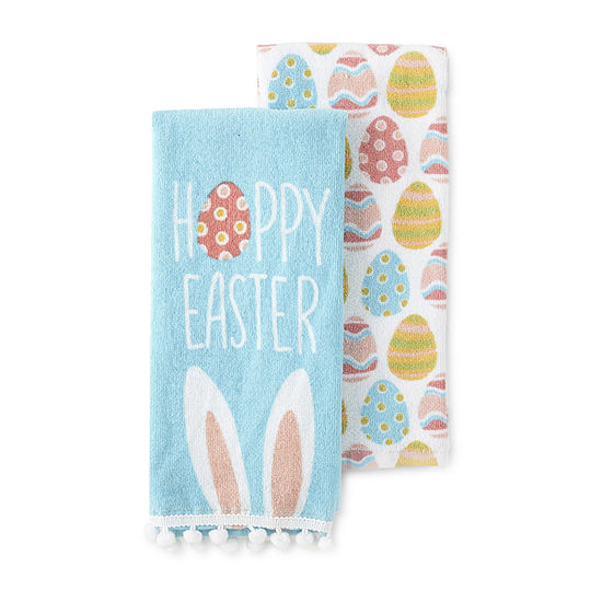 JCPenney Home 2-Pc. Hoppy Easter 2-pc. Kitchen Towel
