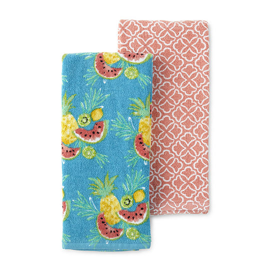 JCPenney Home 2-Pc. Fruit 2-pc. Kitchen Towel