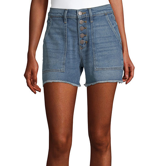 "a.n.a Womens High Rise 3.5"" Denim Short"
