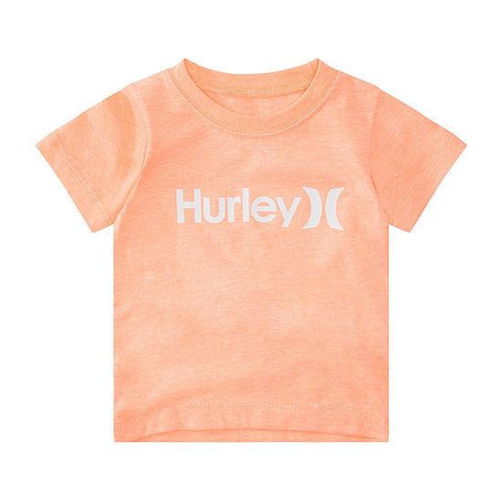 Hurley Big Boys Round Neck Short Sleeve Graphic T-Shirt