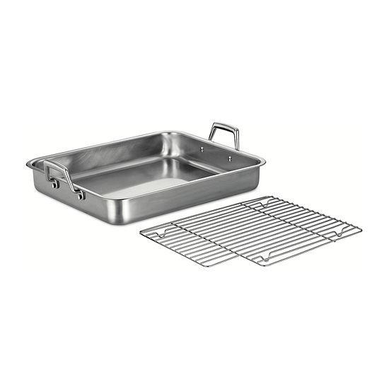 "Tramontina Gourmet 16.5"" Stainless Steel Roasting Pan"