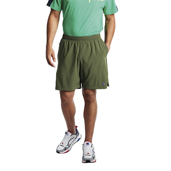 Champion Mens Moisture Wicking Workout Shorts
