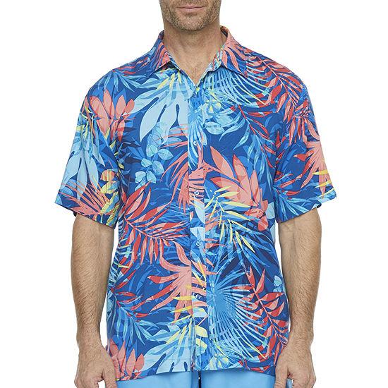 Peyton & Parker Leaf Swim Shirt Swimsuit Top