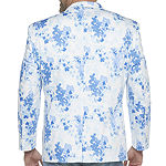 JF J.Ferrar Mens Floral Stretch Regular Fit Sport Coat - Big and Tall