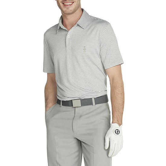 IZOD Golf Stretch Mens Cooling Short Sleeve Polo Shirt