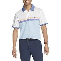 IZOD Mens Cooling Short Sleeve Polo Shirt Deals