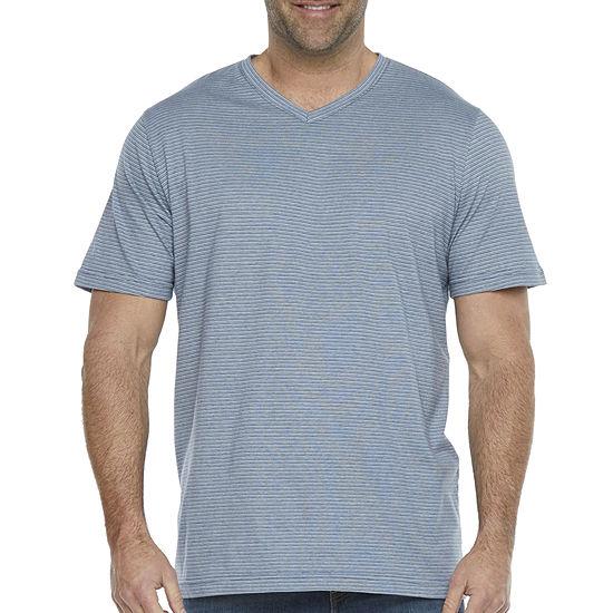 The Foundry Big & Tall Supply Co. Mens V Neck Short Sleeve T-Shirt