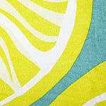 Outdoor Oasis Citrus Beach Towel