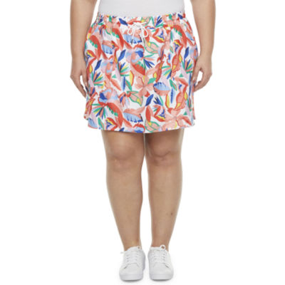 St. John's Bay Womens Skort-Plus