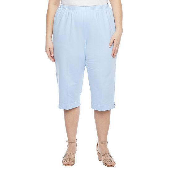 Alfred Dunner Classics French Terry Plus Capris