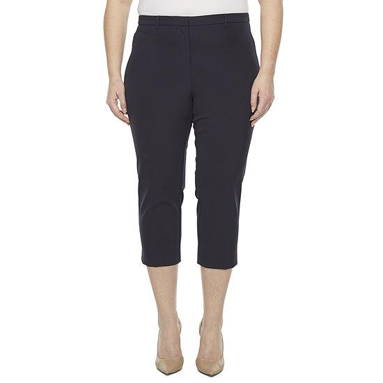 Liz Claiborne Plus Cropped Pants