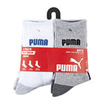 Puma Little & Big Boys 6 Pair Crew Socks