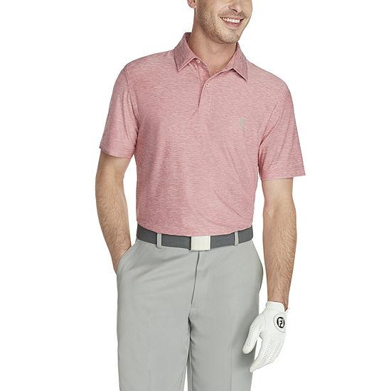 IZOD Golf Title Holder Mens Cooling Short Sleeve Polo Shirt
