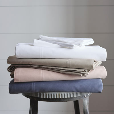 Linden Street Organic Cotton Sateen Sheet Set