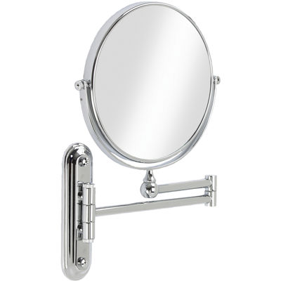 Valet Wall-Mount 5x Magnifying Mirror