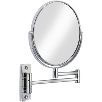 Cosmo Extendible Wall-Mount 5x Magnifying Mirror
