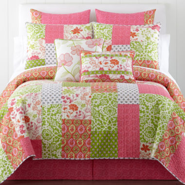 jcpenney.com | Home Expressions™ Winsome Floral Quilt & Accessories