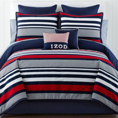 jcpenney.com | IZOD® Varsity Stripe Comforter Set & Accessories