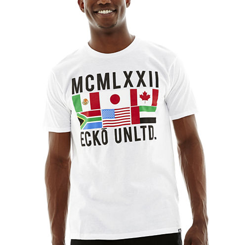 Ecko Unltd.® Flags Graphic Tee