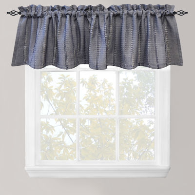 Park B. Smith® Eyelet Chambray Rod-Pocket Valance