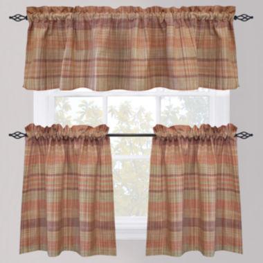 jcpenney.com | Park B. Smith Sumatra Rod-Pocket Kitchen Curtains