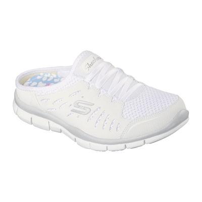Skechers®Skechers® No Limits Slip-On Womens Mule Sneakers