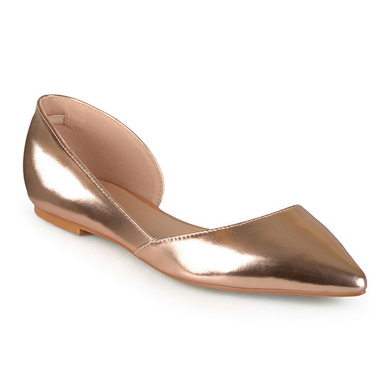 Journee Collection Womens Cortni D'Orsey Ballet Flats