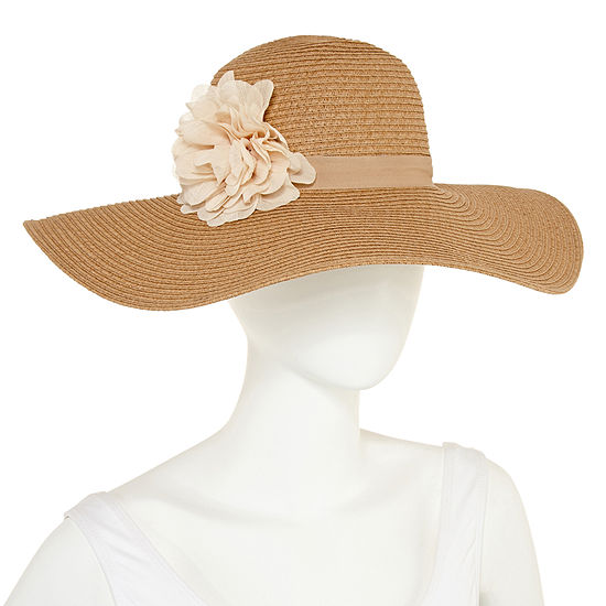 August Hat Co. Inc. Flower Floppy Hat