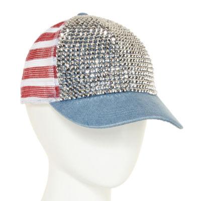 Mixit Americana Denim Baseball Cap
