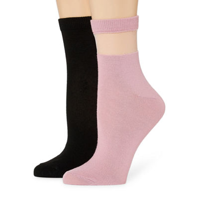 Mixit 2 Pair Ankle Socks - Womens