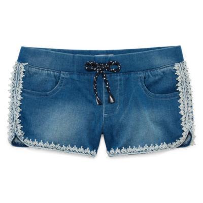 Freestyle Revolution Denim Shorts - Big Kid Girls