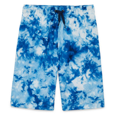 City Streets Boys Tie Dye Trunks-Big Kid