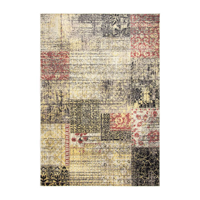 Rizzy Home Bay Side Collection Layla Patchwork Rug
