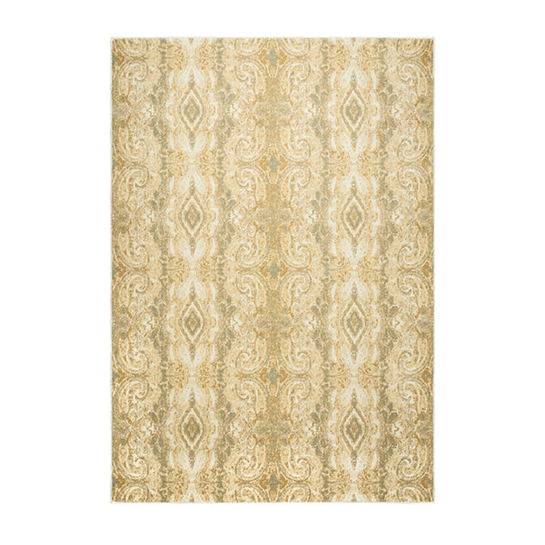Rizzy Home Bennington Collection Summer Oriental Area Rug
